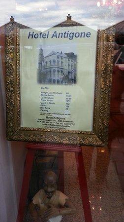 Antigone Hotel: Ingresso