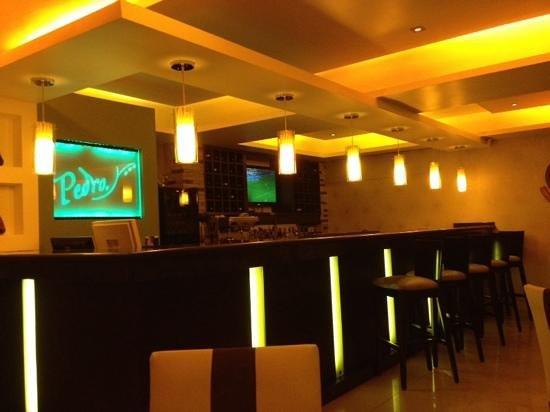 Pedro Restaurant : inside bar