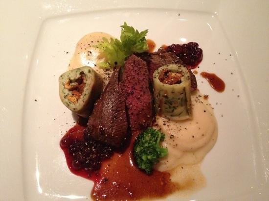 Lochner: Brandenburger saddle of venison - tender and fabulous!