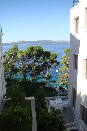 Villa Paulina: vuesur mer depuis la chambre