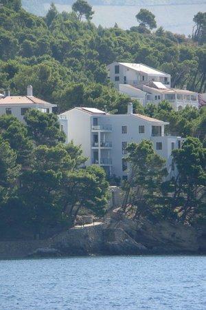 Villa Paulina: l'immeuble dans son environnement