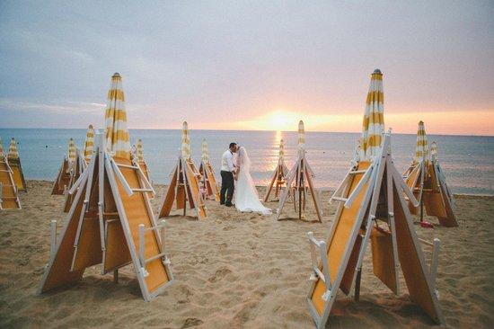Lido Azzurro: beach wedding