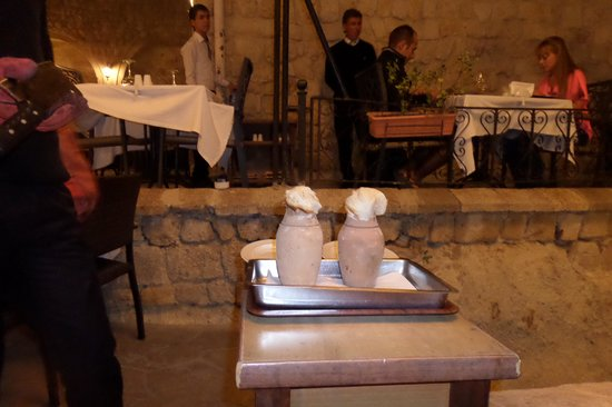 Dimrit Cafe & Restaurant: lamb slow-cookers