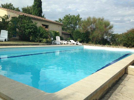 La Bastide Bleue : the swimming pool