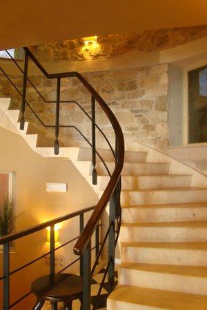 Hotel Bastion : l'escalier