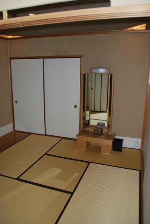 Meguro Gajoen: chambre ( sans les futons)