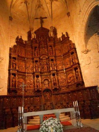 Concatedral de Santa María de Cáceres: Rettablo del Altar Mayor
