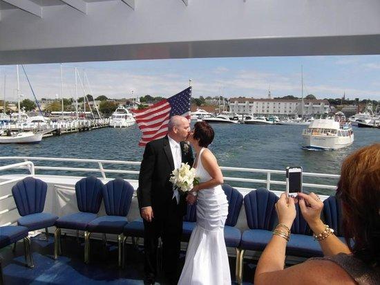 Newport Majestic Cruises: A kiss on the Majestic
