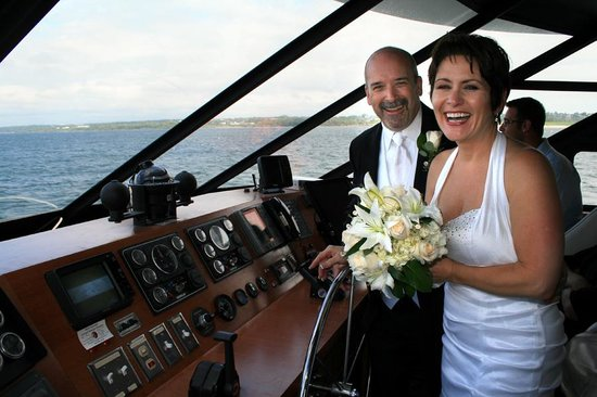 Newport Majestic Cruises: At the helm on the Majestic