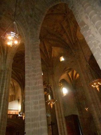 Concatedral de Santa María de Cáceres: Interior