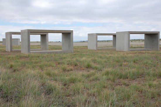 Chinati Foundation Donald Judd Sculptures