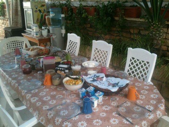 House 57: Breakfast on the Garden Terrace