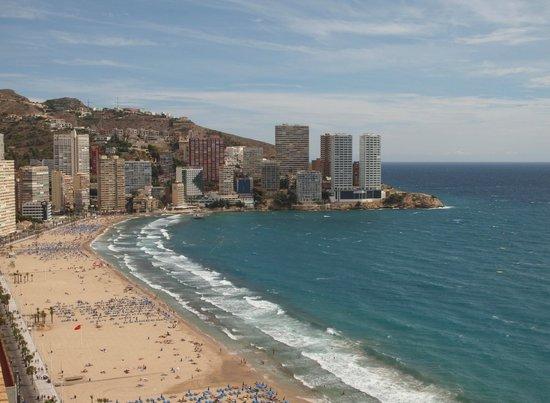 Apartamentos Les Dunes Suites: Vista desde la terraza