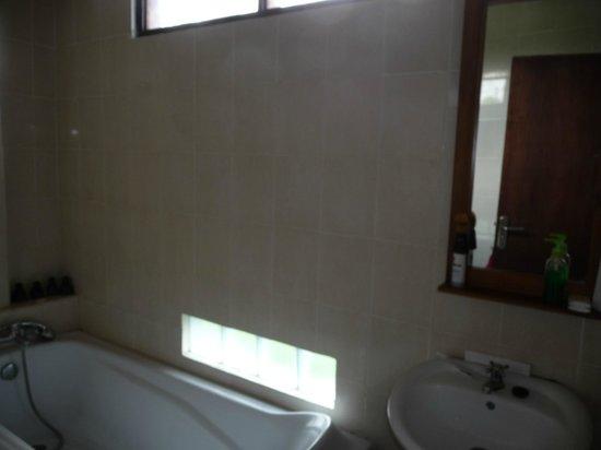 Bisma Sari Resort: Baño