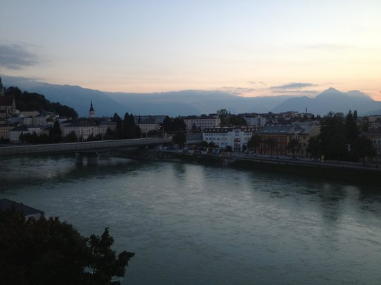 Motel One Salzburg-Sud: View from our window #421