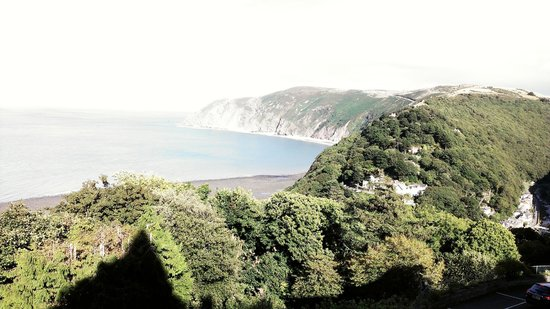 Lynton Cottage Hotel: exceptional view