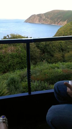 Lynton Cottage Hotel: view from room