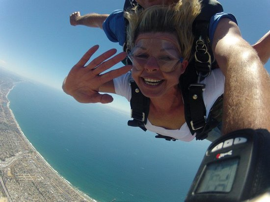 Coastal skydiving in Oceanside!