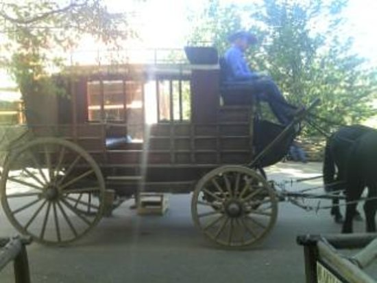 Columbia State Historic Park: Stage Coach boarding