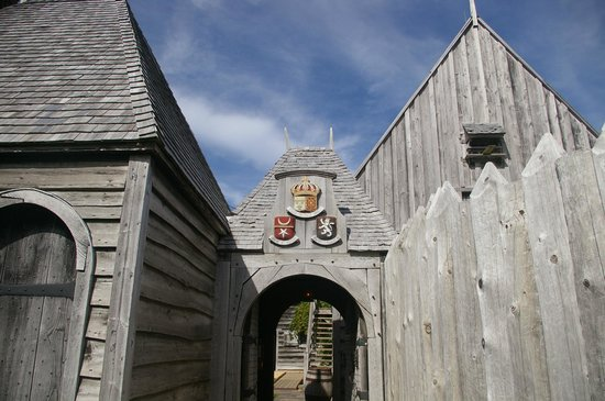 Port-Royal National Historic Site : main gate