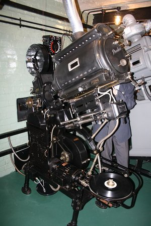 The Plaza: 1930's projector (still works)