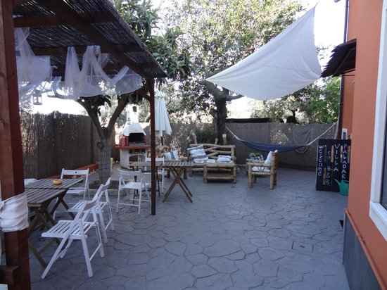 Villa Paladar B&B: Patio - breakfast location & space to relax