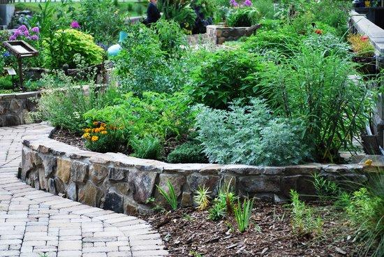 Lake Lure Flowering Bridge Gardens in Lake Lure, NC