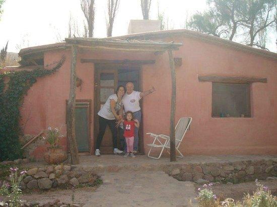 La Calabaza : Frente de la cabaña