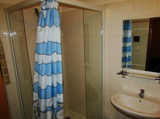 Hotel Stary Pivovar : Decent Bathroom, Hot Shower