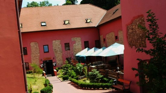 Entrance Hotel Stary Pivovar