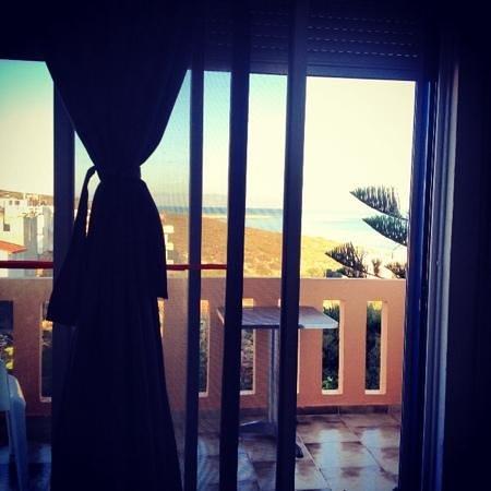 Esplanade Hotel Apartments: vista dalla camera