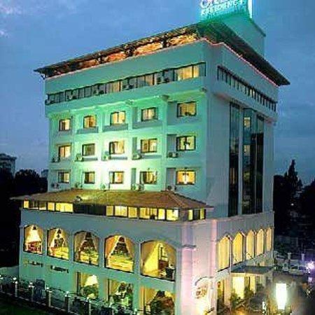 Orchid Residency: hotel main block