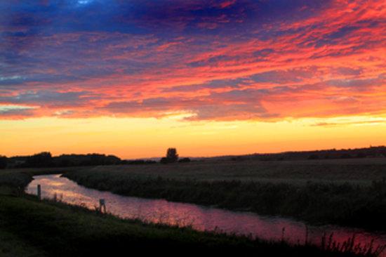 Bodiam Boating Station : stunning sunsets