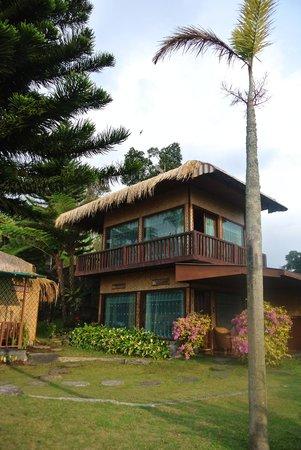 Sukuh Cottage: De cottage met onze kamer