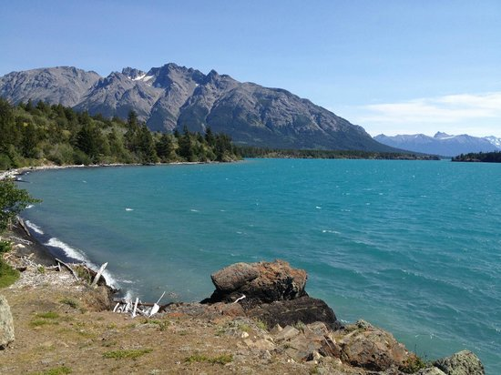Snowy Mountain Outfit : Nearby Chilko lake and horseback ride venue
