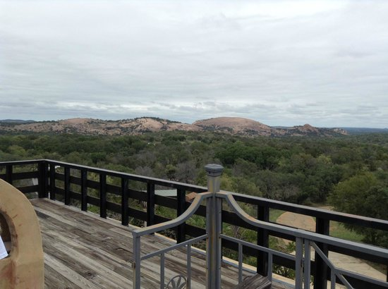 Trois Estate at Enchanted Rock: The view.
