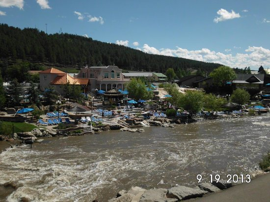 Wyndham Pagosa: The Hot Springs are near by