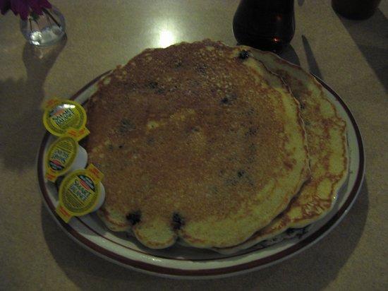 Durango's Restaurant & Gift: Huckleberry Pancakes