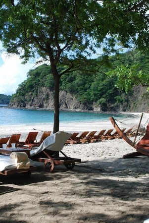 Four Seasons Resort Costa Rica at Peninsula Papagayo: View from my beach chair