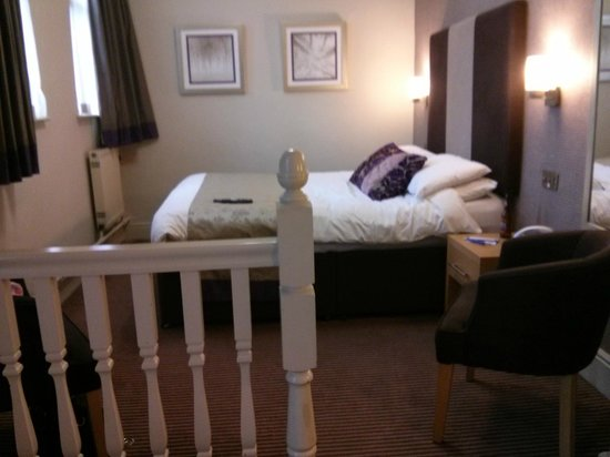BEST WESTERN Westley Hotel: Main double bed