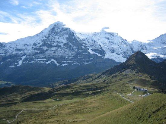Grindelwald, Suiza: Männlichen on a better day