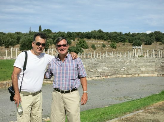 Greece Taxi: Visiting Messini with Nik