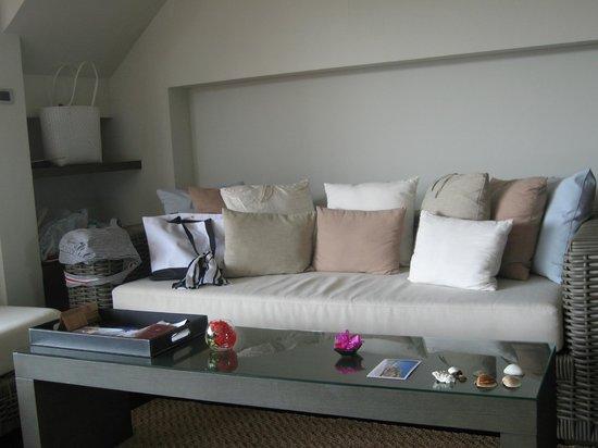 Cape Nidhra Hotel: Sitzecke