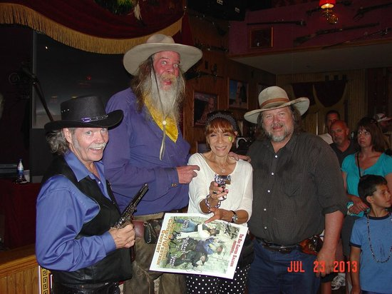 Red Garter Saloon: Michael Paul, Big Dave Murra, and Jerry Allen