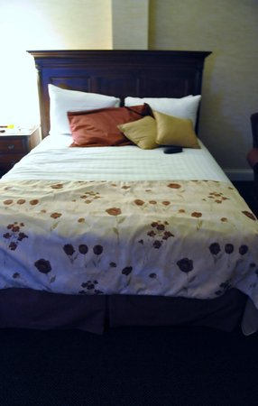 Stoweflake Mountain Resort & Spa : One of the beds in our room