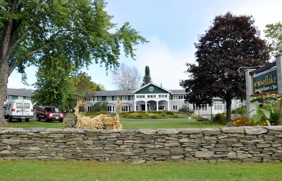 Stoweflake Mountain Resort & Spa : View from the Street