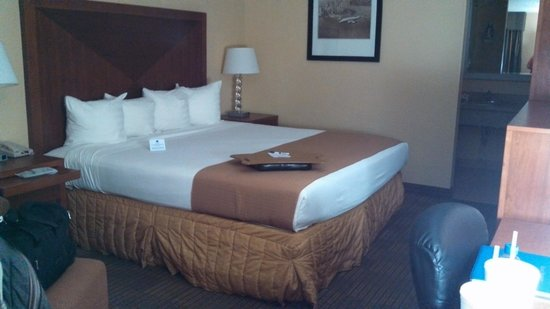 Days Inn Jacksonville Airport: Bed