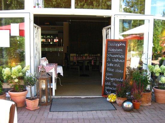Hotel Auszeit: Eingangsbereich Restaurant Portofino
