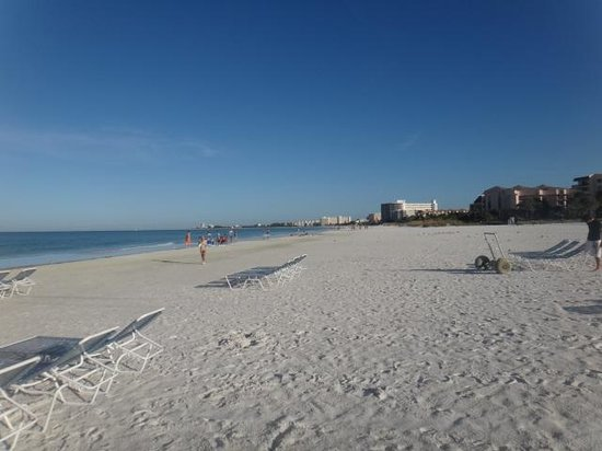 Beach Club at Siesta Key: playa del hotel, Siesta Key