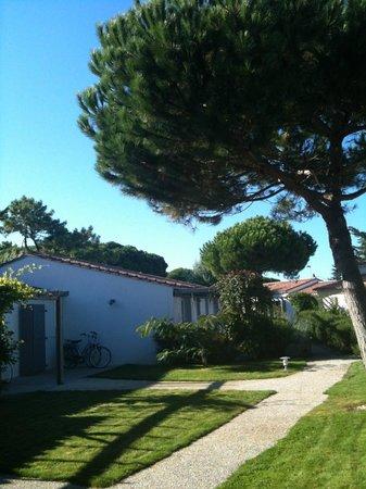 La Villa Passagere Hotel : vue de la chambre